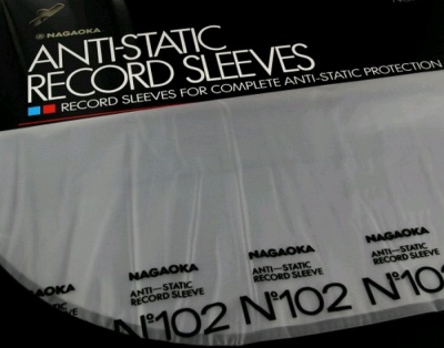 Конверты для LP NAGAOKA Anti-static record sleeves №102