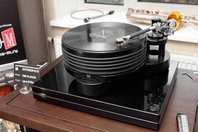 LP проигрыватель NOTTINGHAM Analogue Hyperspace c тонармом Tri-Planar U-10 Ultimate